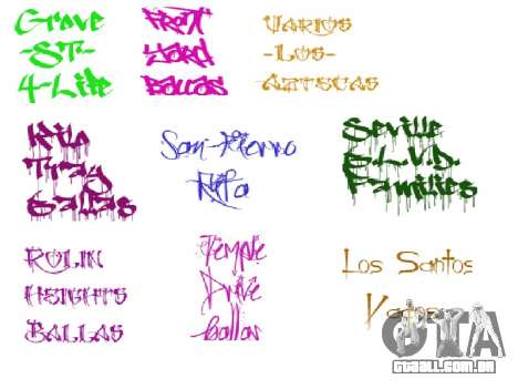 Novo grafite para GTA San Andreas