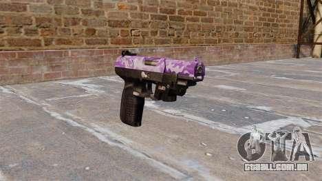 Arma FN Cinco sete LAM Roxo Camo para GTA 4