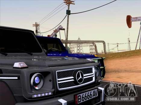 Mercedes-Benz G65 AMG 6X6 para GTA San Andreas vista direita