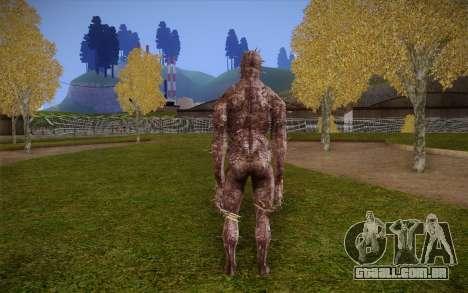 Iron Maiden from Resident Evil 4 para GTA San Andreas segunda tela
