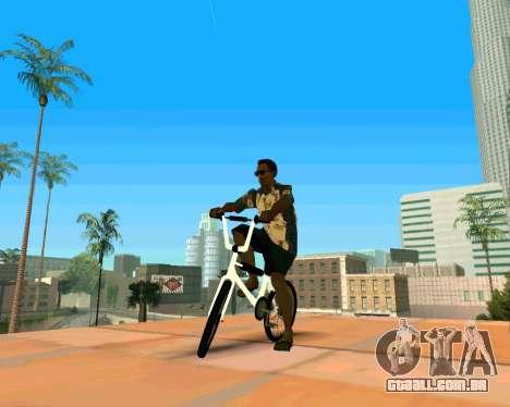 BMX из GTA Vice City Stories para GTA San Andreas vista direita