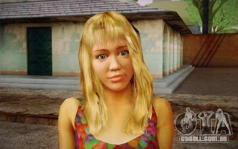Hannah Montana para GTA San Andreas terceira tela