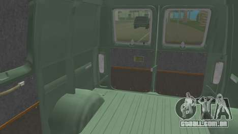 Ford E-150 1983 Short Version Commercial Van para GTA Vice City vista direita