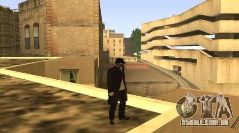 New Aiden Pearce para GTA San Andreas por diante tela