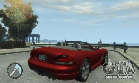 Dodge Viper SRT-10 2003 v2.0 para GTA 4 esquerda vista