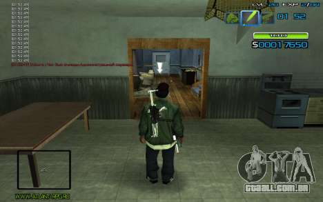 C-HUD by nayshnik para GTA San Andreas segunda tela