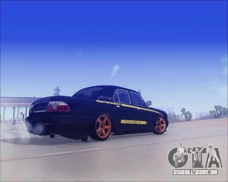 GAZ 31105 Tuneable para GTA San Andreas vista direita