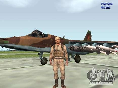 Afghanistan Soviet Soldiers para GTA San Andreas nono tela