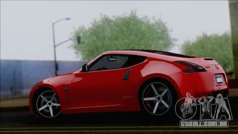 Nissan 370Z Vossen para GTA San Andreas esquerda vista