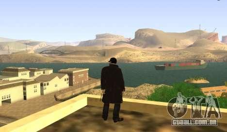 New Aiden Pearce para GTA San Andreas segunda tela