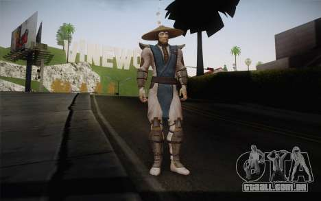 Raiden from Mortal Kombat 9 para GTA San Andreas