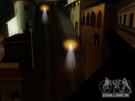 Improved Lamppost Lights v2 para GTA San Andreas terceira tela