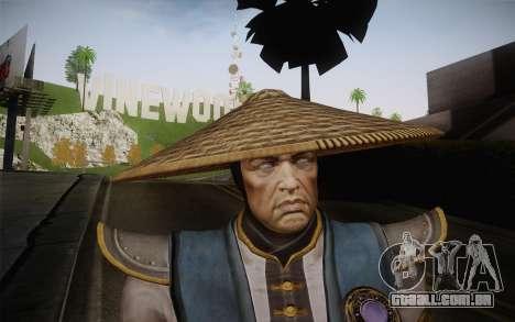 Raiden from Mortal Kombat 9 para GTA San Andreas terceira tela