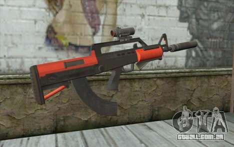 Rifle BullPup из GTA 5 para GTA San Andreas segunda tela