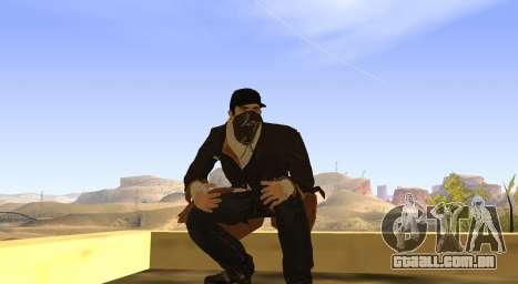 New Aiden Pearce para GTA San Andreas sétima tela