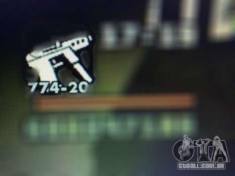 Novos recursos de armas para GTA San Andreas décimo tela