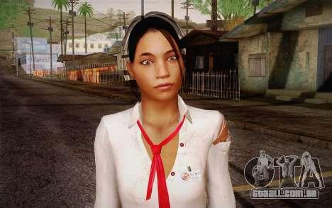 Xian Mei from Dead Island para GTA San Andreas terceira tela