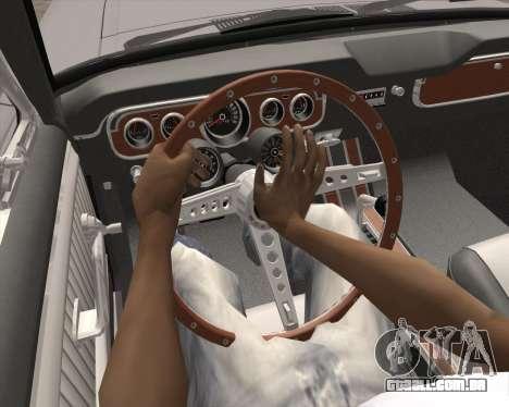 Animação pressionando sinal para GTA San Andreas por diante tela