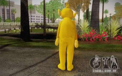 Lala (Teletubbies) para GTA San Andreas segunda tela