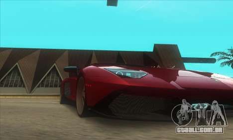ATI ENBseries MOD para GTA San Andreas segunda tela