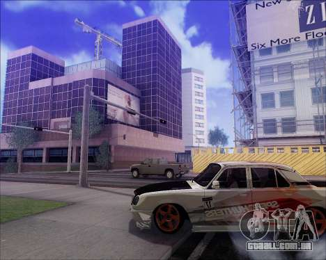 GAZ 31105 Tuneable para GTA San Andreas interior