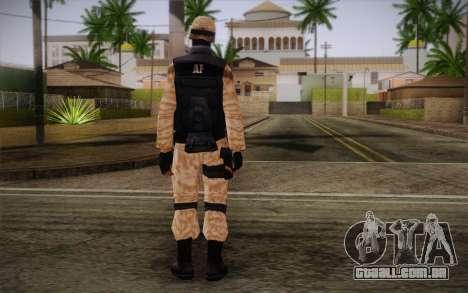 SWAT Desert Camo para GTA San Andreas segunda tela