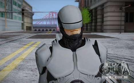 RoboCop 2014 para GTA San Andreas terceira tela