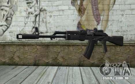 AK74M para GTA San Andreas