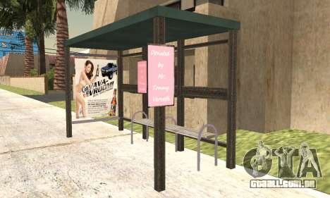 Nova parada de ônibus para GTA San Andreas terceira tela