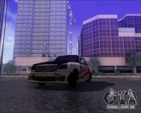 GAZ 31105 Tuneable para o motor de GTA San Andreas