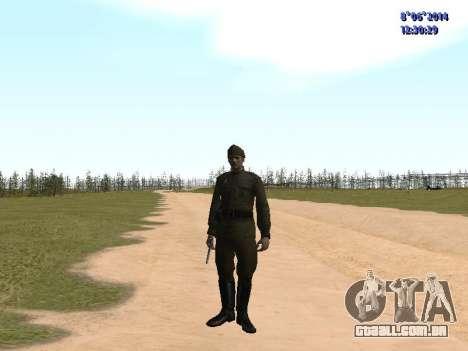 USSR Soldier Pack para GTA San Andreas oitavo tela