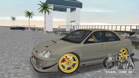 Subaru Impreza WRX STI 2005 para GTA Vice City vista direita
