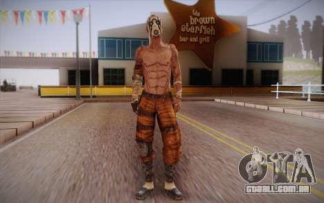 Gangster de Borderlands 2 para GTA San Andreas
