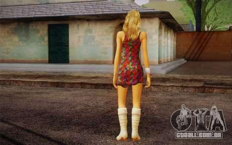 Hannah Montana para GTA San Andreas segunda tela