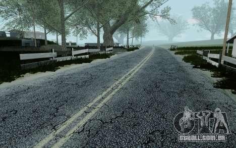 HD Roads 2014 para GTA San Andreas sétima tela