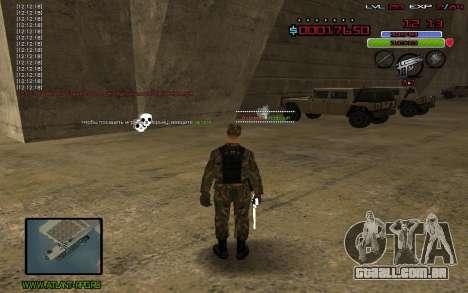 C-HUD by Mr.Bim para GTA San Andreas terceira tela