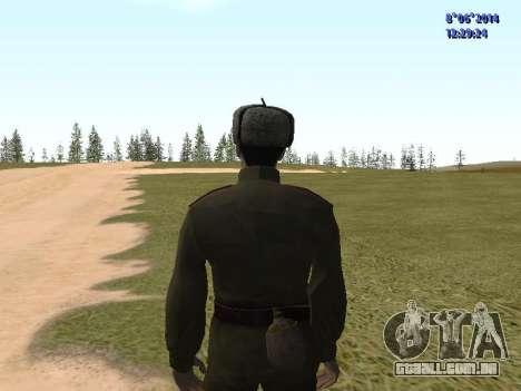 USSR Soldier Pack para GTA San Andreas sexta tela