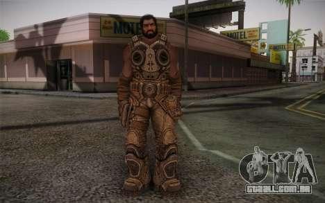 Dom From Gears of War 3 para GTA San Andreas