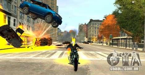 Ghost Rider para GTA 4 terceira tela