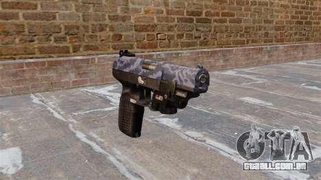 Arma FN Cinco sete LAM Azul Camo para GTA 4