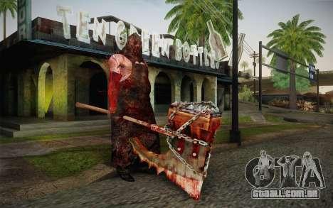 Carrasco (Resident Evil 5) para GTA San Andreas