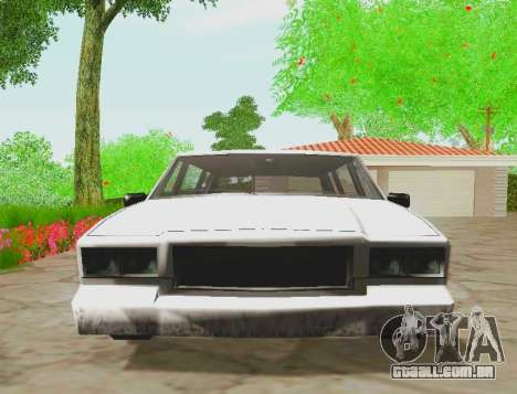 Tahoma Limousine para GTA San Andreas vista direita
