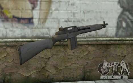 M14 из FarCry para GTA San Andreas segunda tela