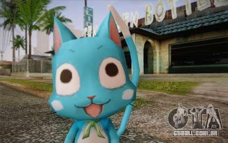 Happy from Fairy Tail para GTA San Andreas terceira tela