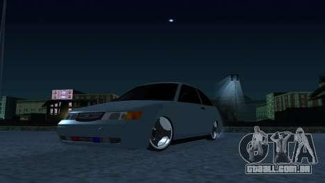 ESTES 2112 EM para GTA San Andreas traseira esquerda vista