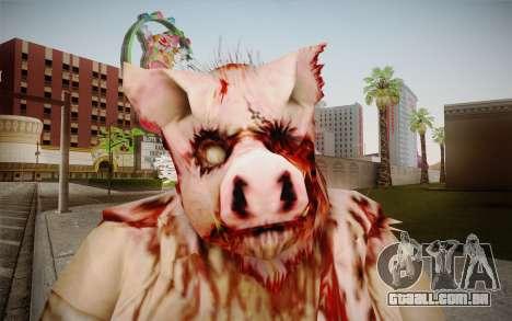 Piggsy Skin para GTA San Andreas terceira tela