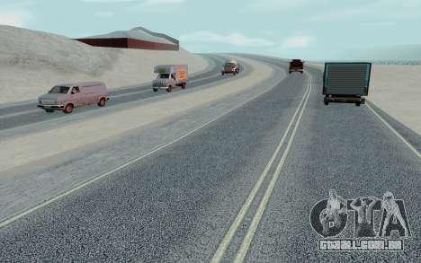 HD Roads 2014 para GTA San Andreas sexta tela