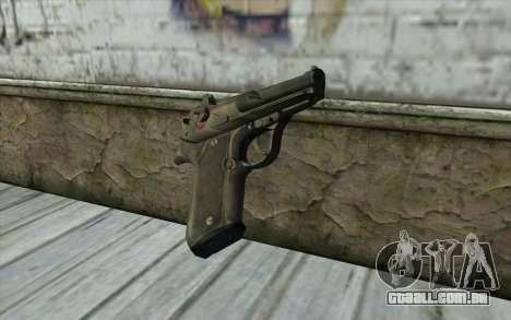 M9 Pistol para GTA San Andreas segunda tela