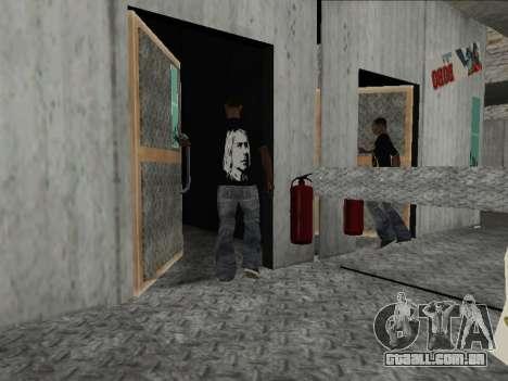 Novo Mike Nirvana e Kurt Cobain para GTA San Andreas terceira tela