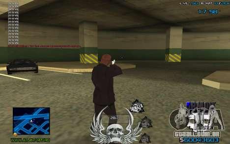 C-HUD by Extazy para GTA San Andreas terceira tela